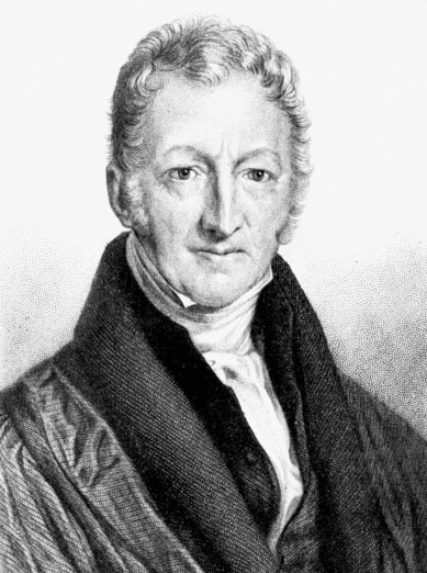 Portrait of Thomas Malthus