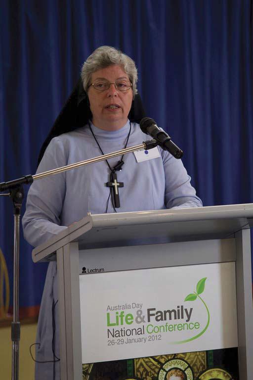 Sister Moira de Bono