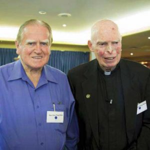 The Hon Rev Fred Nile MLC and Monsignor Philip Reilly