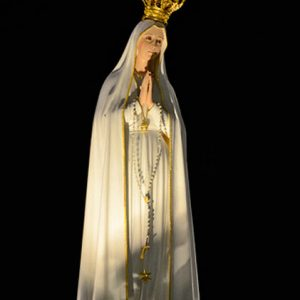 Our Lady of Fatima pilgrim statue