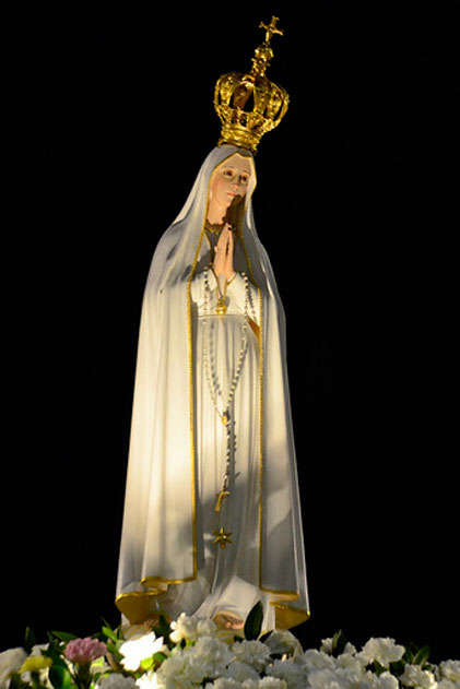 Our Lady of Fatima pilgrim statue