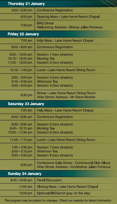 L&F-Conference-Albury