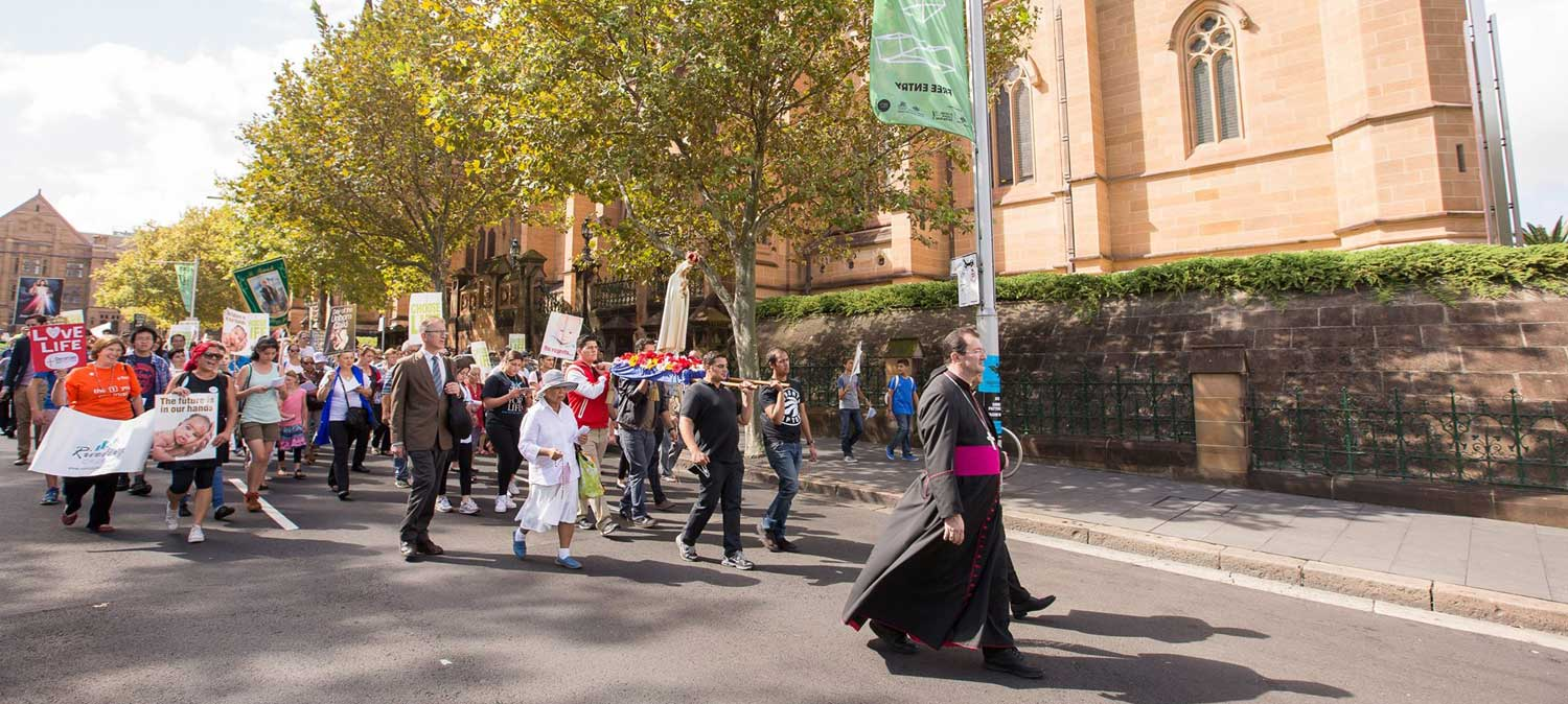day of the unborn child procession